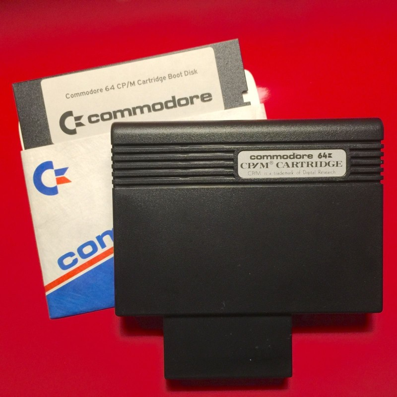 Picture of Commodore 64 CP/M Cart and Boot Disc
