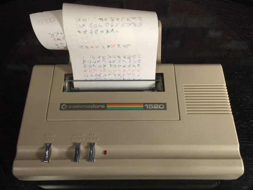 Commodore 1520 Printer/Plotter