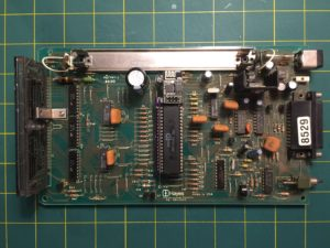 Hayes Chronograph motherboard