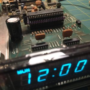 Hayes Chronograph VFD and motherboard